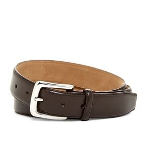 Cole Haan 30mm Dark Brown Dress Leather Belt Size